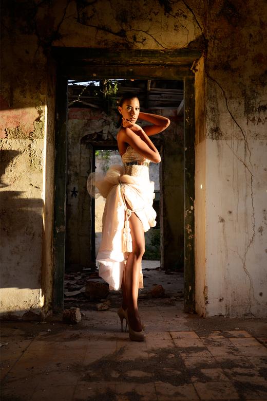 Evalina - Model: Evalina<br /> MUA: INGLOT Curacao<br /> Designer: Juan Carlos Padrino<br /> Photo: Inostroza Photography