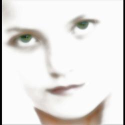 green-eyed girl..