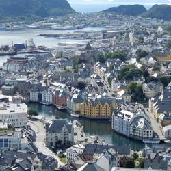 Alesund-Noorwegen