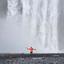 Skogafoss Waterval Iceland