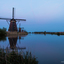 Kinderdijk after sunset