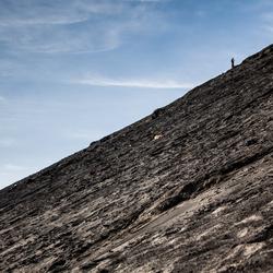 Climbing the Bromo Vulcano