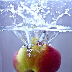 waterige appel