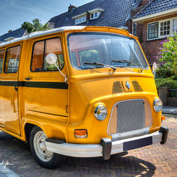 Klassiek Renault busje