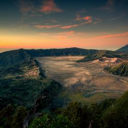 Mount Bromo bij zonsopgang
