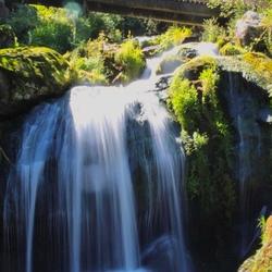 Watervallen Zwarte woud Duitsland