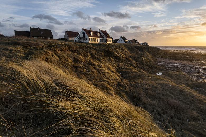 audresselles - Een felle wind stond er toen ik deze foto nam ,ideaal om een dergelijke foto te nemen .