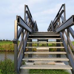 P1030675  Wandelbrug Groeneveldse water 3 sept 2018