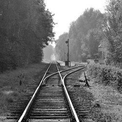 Verlaten treinspoor
