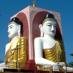 Boeddha van Kyaikhtiyo /Birma