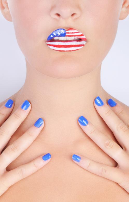 American Lips - Fotografie: Nadja Geskus<br /> Visagie: Nanette Montizaan<br /> Model: Yente Eysker