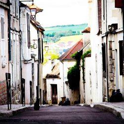 Straatbeeld Auxerre