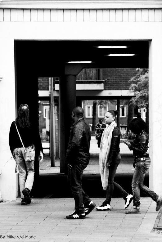 Doorkijk - Foto genomen te Amsterdam
