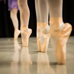 Openles bij Ballet School waar mijn dochter van 10 bij danst