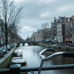 Langs de Amsterdamse grachten...