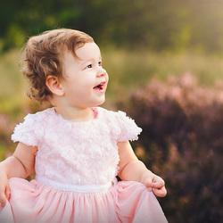 Kleine prinses op de heide