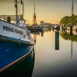 Early in the morning in Den Helder