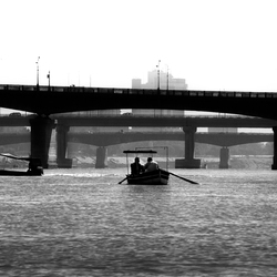 Tigris rivier-Baghdad