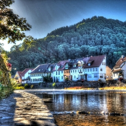 Wolfach - Duitsland (HDR)