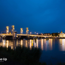 Blauwe uurtje in Kampen
