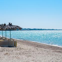Rustig foto's maken Tigaki Beach Kos.