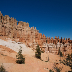Wall of windows - Bryce Canyon