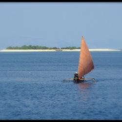 Boot Sumbawa Indonesië