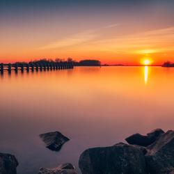 Sunset Veluwemeer