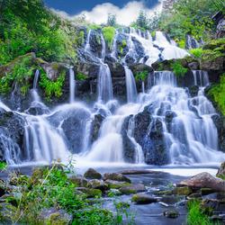 Waterval in Zweden