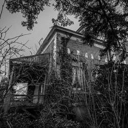 Verlaten landhuis