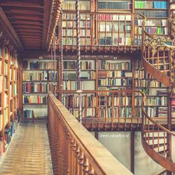 Sneakpreview van een prachtige bibliotheek.