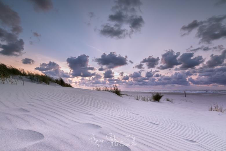 Witte stranden....
