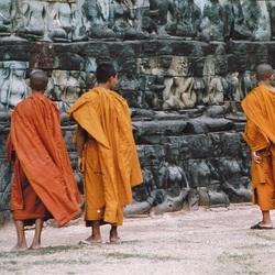 Monniken Ankor Wat