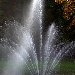 fontein in park
