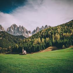 Val di Funes in de Dolomieten