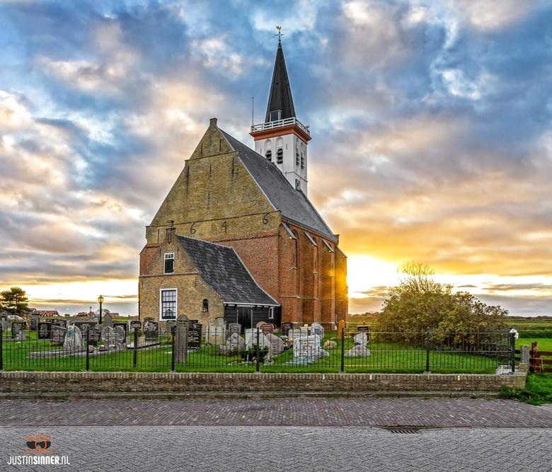 Kerk van den Hoorn op Texel.