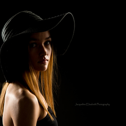 Girl with the hat