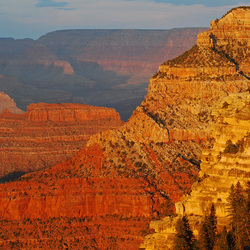 zonsondergang Grand Canyon