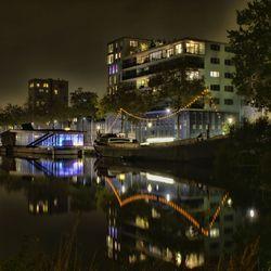 Piushaven bij nacht III