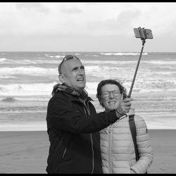 Als jij nu even op het scherm links onder drukt..dan hebben we een selfie !!
