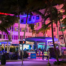 colourful Miami Beach