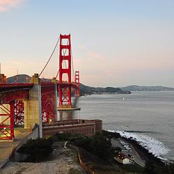 Golden Gate en Bay