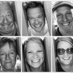Bekneld familieportret