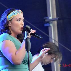 Caro Emerald openingsact op Reuring 2014