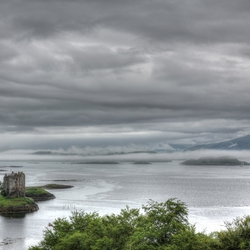Kasteel Schotland hdr