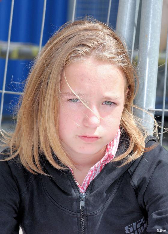 Charlotte - Op vakantie in Frankrijk even met de camera bezig, en Charlote was een gewillig onderwerp.