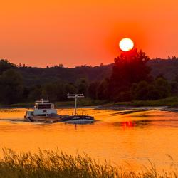 Scheepvaart op de Rijn
