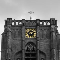Gele klok
