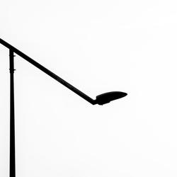 moderne straatverlichting
