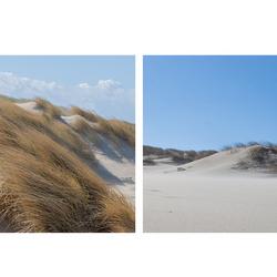 Les Dunes collage